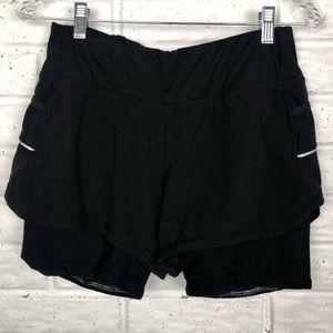 ATHLETA athletic shorts with inner spandex